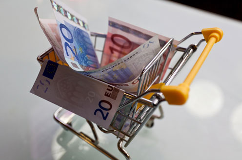 Algemeen-winkelwagen-met-geld Customer journey: wat is de reis van jouw klant?