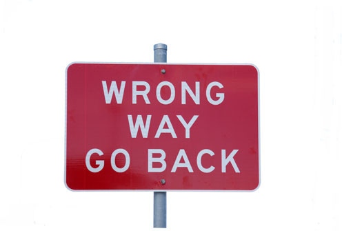 marketingstrategie-wrong-way-go-back Marketing advies