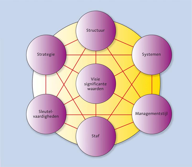 7-S-model-McKinsey Hoe maak ik een interne analyse?